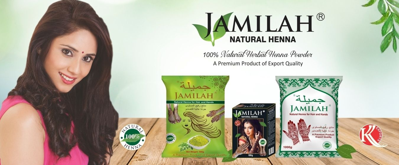 Jamilah Henna, Buy the Best Quality Henna Powder Online